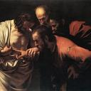 'The Incredulity of Saint Thomas', Michelangelo Merisi da Caravaggio, 1601.