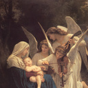 'Song of the Angels', William-Adolphe Bouguereau, 1881.